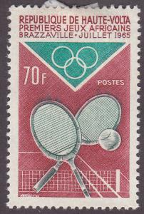 Burkina Faso 143 1st African Games, Brazzaville 1965