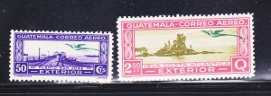 Guatemala C65, C68 MNH Views
