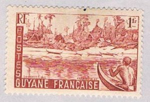 French Guiana 196 MLH River bank 1947 (BP51021)