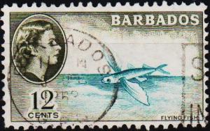 Barbados. 1953 12c S.G.296 Fine Used