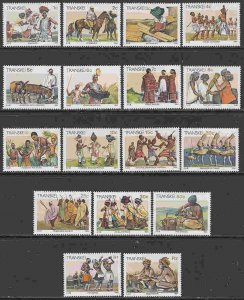 South Africa - Transkei #129-38, 142, 144, 146-50 (Part set) F-VF Mint NH **