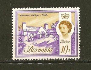 Bermuda 182A Bermuda Cottage Mint Hinged