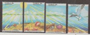 Tuvalu Scott #649-652 Stamps - Mint NH Set