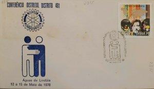 A) 1974, BRAZIL, ROTARY INTERNATIONAL DISTRICT CONFERENCE, BRAZILIAN ETHNIC STAM