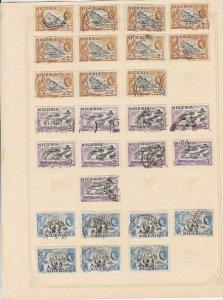nigeria stamps sheet ref 17760