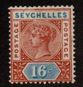 Seychelles 12 Mint Hinged (Die I)