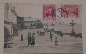 MONACO #54 MONTE CARLO CARD 1924 APRIL 10