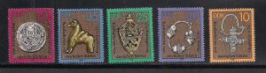 GERMANY - DDR SC# 1891-5 VF MNH 1978