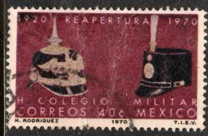MEXICO 1027 50th Anniv of the Military Academy. Used. (403)