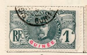 French Guinee 1906 Early Issue Fine Used 1c. 135950