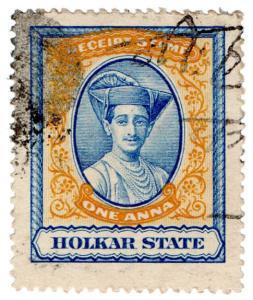 (I.B) India (Princely States) Revenue : Holkar State Receipt 1a