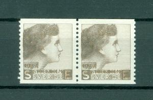 Sweden.Test/Proof,Essay Stamp 1937. Pair Mnh. Women's Face. Engraver Sven Ewert.