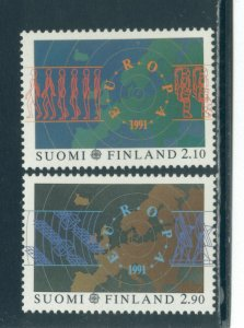Finland 866-7  MNH cgs