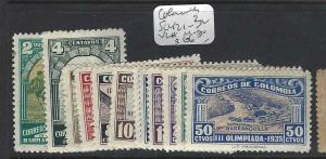 COLOMBIA   (PP2203B)  SC 421-432   MOG