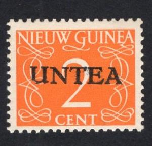 Netherlands West New Guinea UNTEA UN temporary authority 1962 MNH . 2 ct