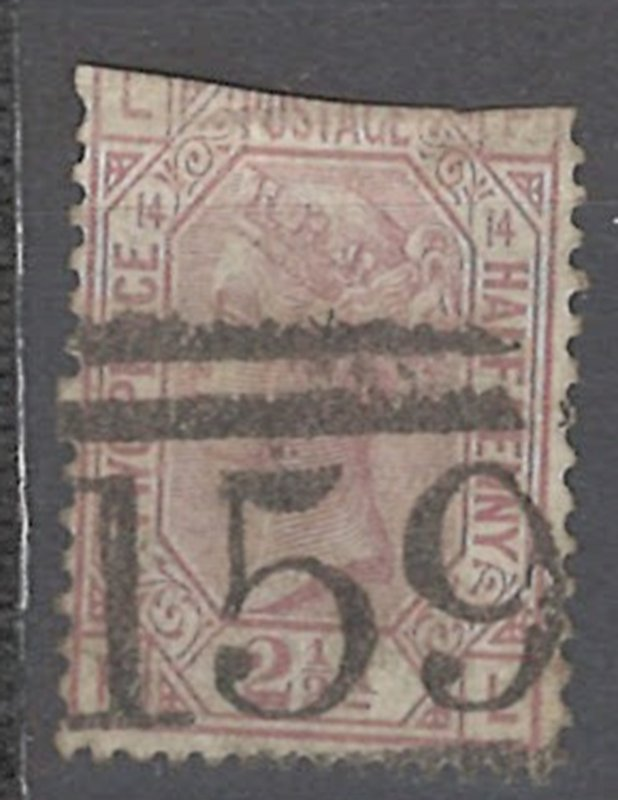 COLLECTION LOT # 2235 GREAT BRITAIN #67p14 FAULTY 1876 CV=$60