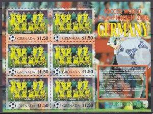 2006 Grenada 5735KL 2006 FIFA World Cup Germany( Ukraine ) 9,00 €