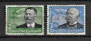 GERMANY STAMPS. AIR MAIL 1934. Mi.#538, 539
