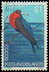 Cocos Islands #8-19, Complete Set(12), 1969, Birds, Marine LIfe, Used