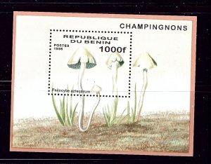 Benin 883 MNH 1996 Mushrooms S/S