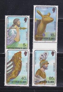 Virgin Islands 280-283 Set MNH Figureheads