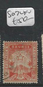 BRUNEI (P0205B)  LOCAL ISSUE  10C  SG 7  VFU