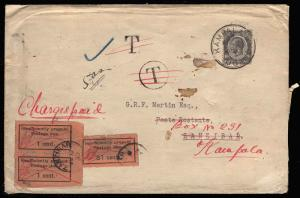 Zanzibar Scott J1-J9 Gibbons D1-D17a on Cover