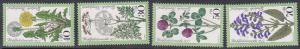 Germany B542-5 1977 Flowers Cpl MNH