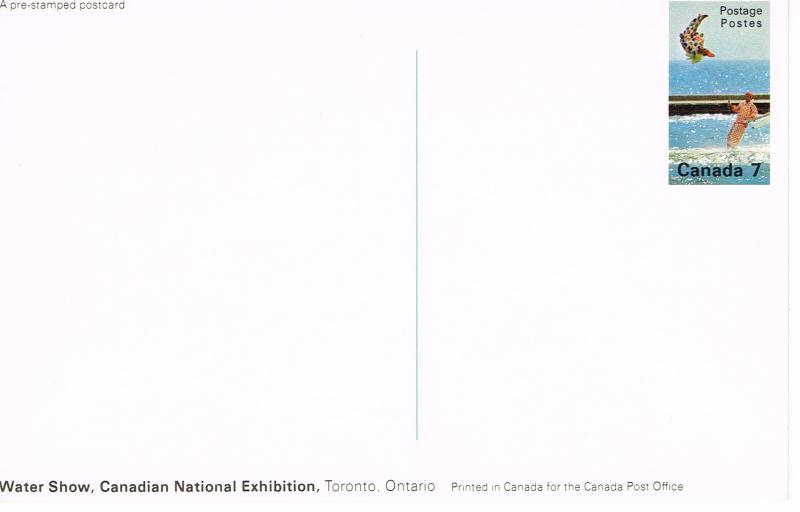 Canada Unitrade Postal Card UX109A