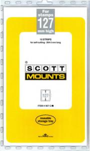 Scott Mounts Clear 127mm STRIP 265mm, (Pgk. 10)(00957C)