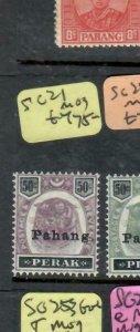 MALAYA   PAHANG (P0403B)  TIGER 50C  SG 21   MOG