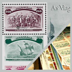 Zillions of stamps to go - Old  Portugal - Europa Minisheets all diff -Mi  €175+