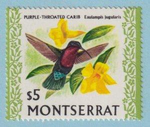 MONTSERRAT 243 MINT NEVER HINGED OG ** NO FAULTS VERY FINE !
