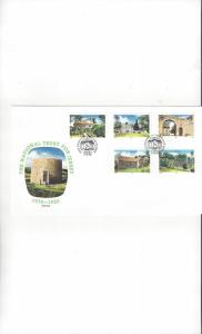 Jersey 399-403 National Trust for Jersey FDC Jersey Post Office