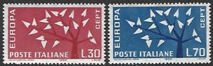 Italy #860-861 Mint Hinged Set of 2 Europa