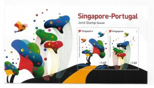 Singapore 2021 Portugal joint issue S/S MNH C4