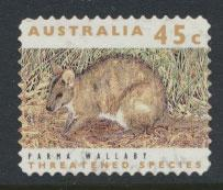 Australia SG 1327  Used perf 11½ Threatened Species - Wallaby