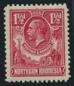 Northern Rhodesia  SG 3 SC# 3 Mint Light hinge - see details