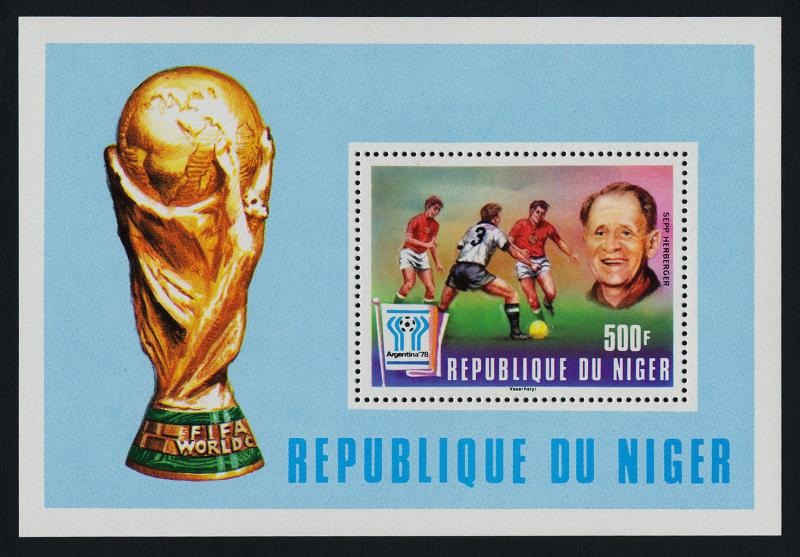 Niger 417 MNH World Cup Soccer, Football