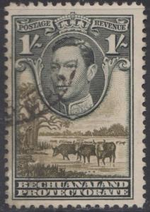 BECHUANALAND PROTECTORATE # 131 used - SG 125