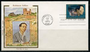 UNITED STATES COLORANO 1973 ROBINSON JEFFERS  FIRST DAY COVER