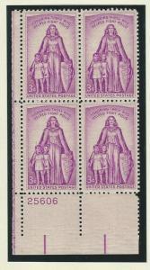 United States Plate Block   mnh SC  1087
