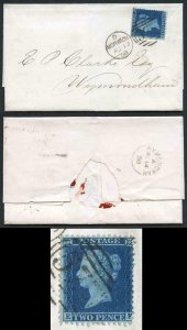 2d Star (EF) SG35 LC Perf 14 on Cover SUPERB