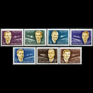 HUNGARY 1962 - Scott# C221-7 Astrona Set of 7 NH