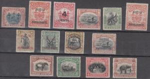 North Borneo Scott 67 // 141 Mint hinged (#67 no gum) - Catalog Value $157.00
