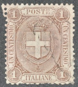 DYNAMITE Stamps: Italy Scott #73 – USED