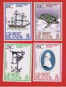 Gilbert Islands #321-324  MNH OG  Cook  Free S/H