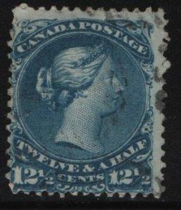 Canada, 28, USED, 1868-76, Queen Victoria