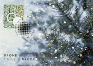 Liechtenstein Christmas Stamps 2020 CTO Trees Decorations 1v Postcards