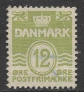 Denmark - Scott 333 - Definitive Issue -1952 - Used - Single 12o Stamp